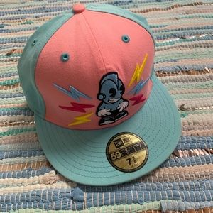 New Era Pastel Kid Robot Fitted Hat